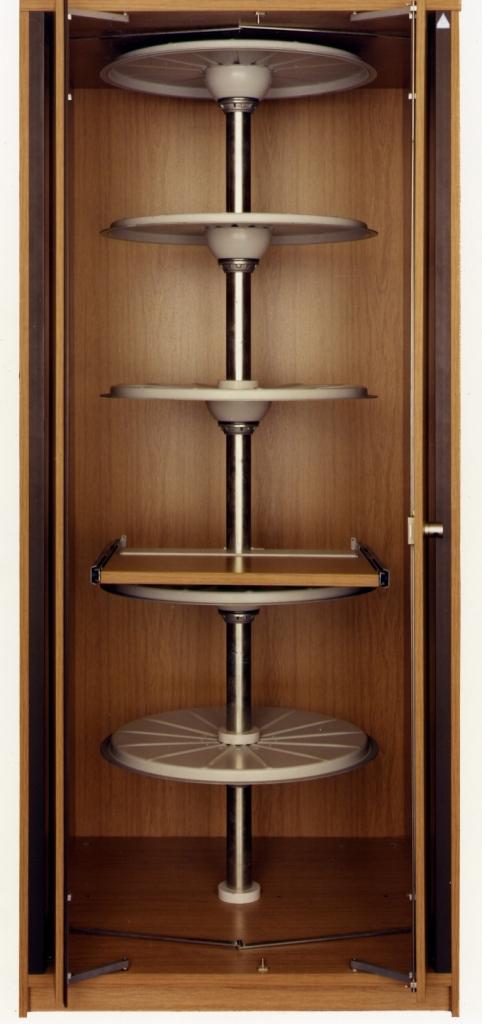 Kitchen Corner Cabinet Full Carousel